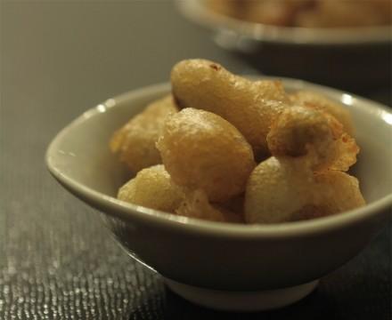 青豆のチーズフリット